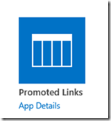 SharePoint 2013 – Promoted Links App – Wes Preston